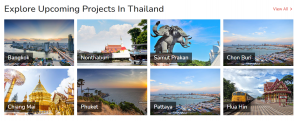 new condo projects Thailand