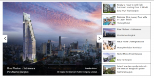 new off plan condo projects Thailand